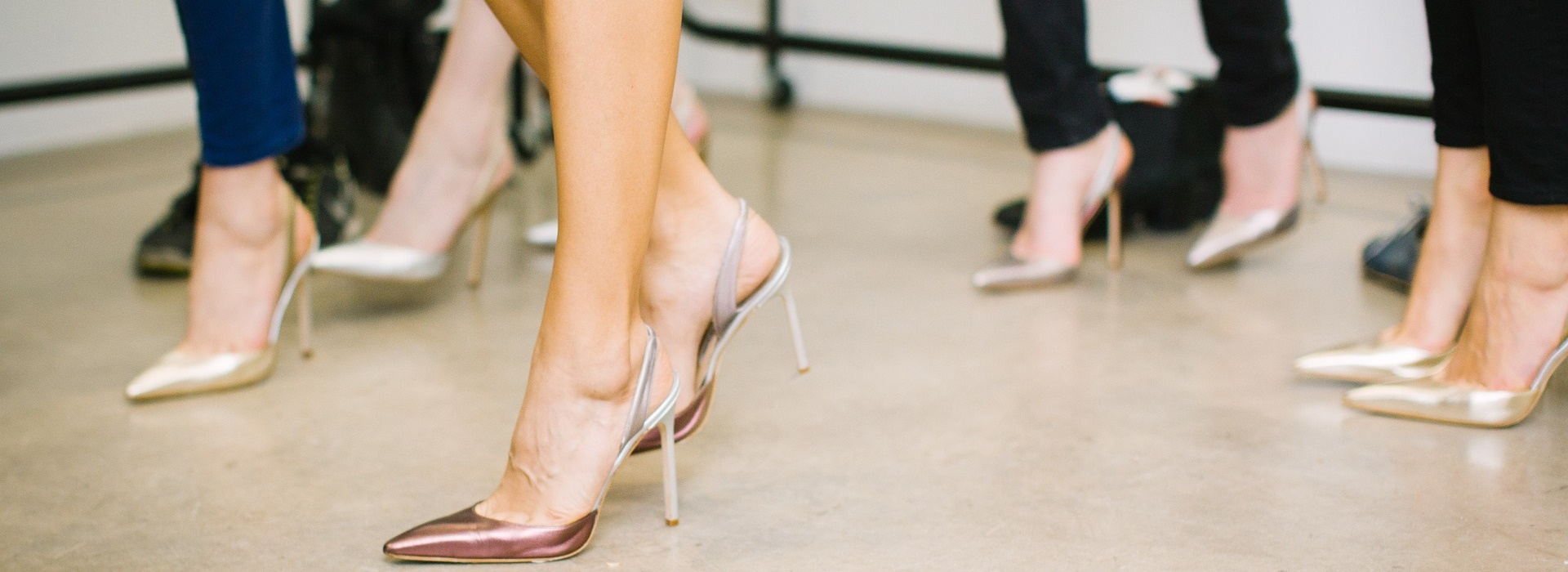 Ladies in heels